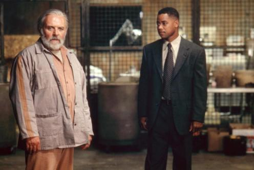 INSTINCT, Anthony Hopkins, Cuba Gooding, Jr., 1999, (c)Buena Vista Pictures