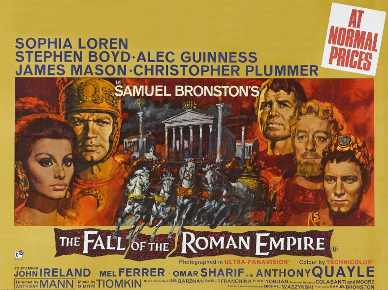 Poster - Fall of the Roman Empire, The_02