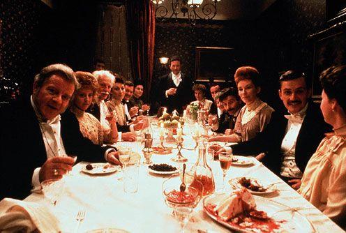 Joyce -The Dead - banquet