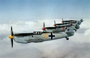 P129_four_Me109s_in_formation_flight