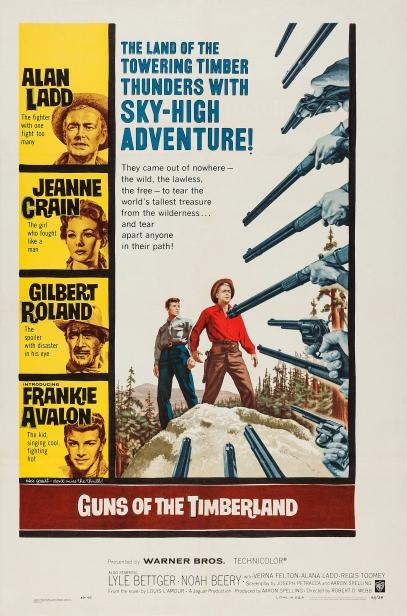 Poster - Guns of the Timberland_01