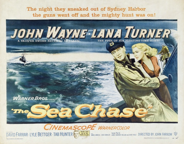 Poster - Sea Chase, The_02