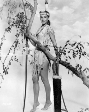 Vera-Miles-in-The-Charge-at-Feather-River-1953