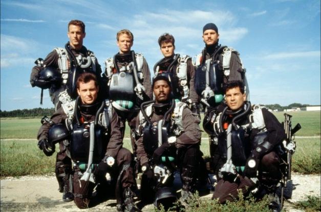 Navy Seas Charlie Sheen Michael Biehn 1990 movie