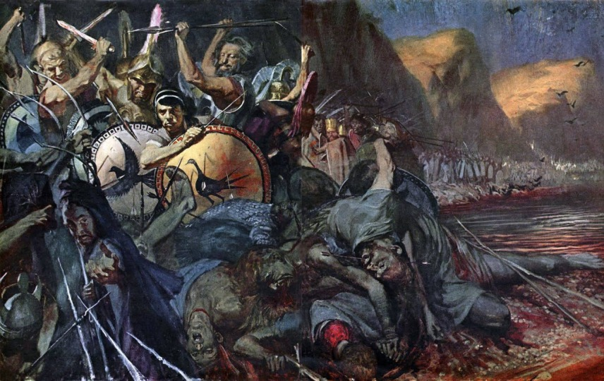 Stanley Meltzoff - Battle of Thermopylae