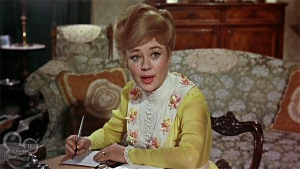 Mary Poppins Winifred Banks writing