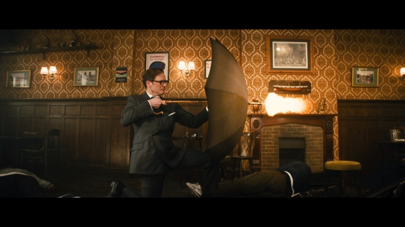 colin firth in KINGSMAN THE SECRET SERVICE