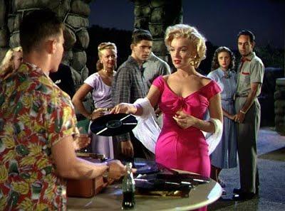 Marilyn Monroe - Niagara hot pink