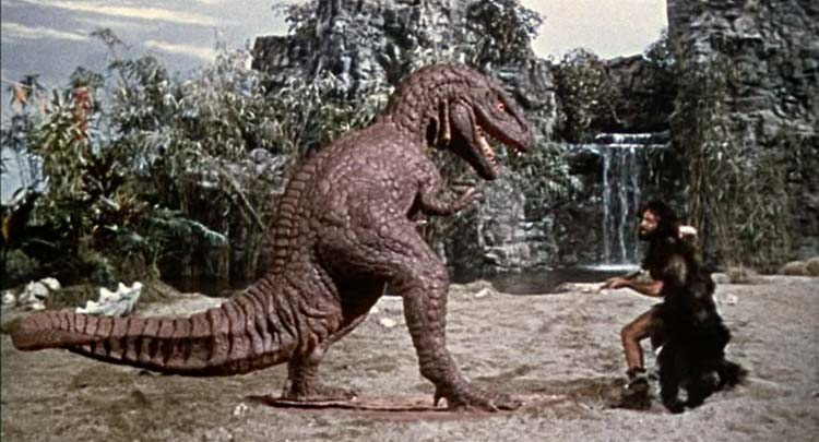 One-Million-Years-BC-Ray-Harryhausen-Allosaur-Attack