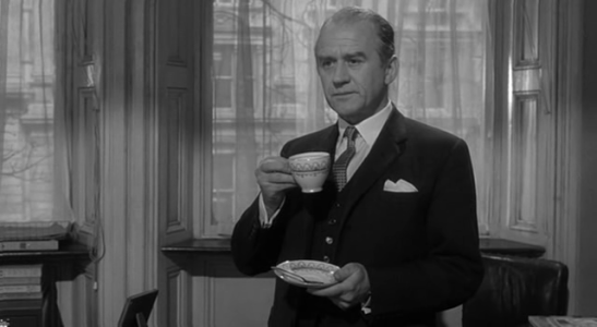 Cyril Cusack - The Spy Who Came in From the Cold (1965) control