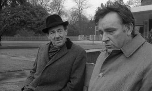 two_men_negotiating_on_a_bench