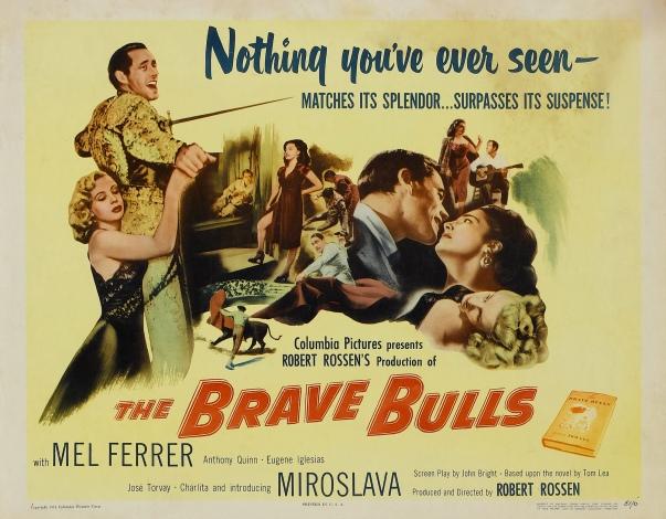 Poster - Brave Bulls, The_03