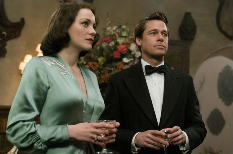 Brad Pitt and Marion Cotillard Goes to Casablanca