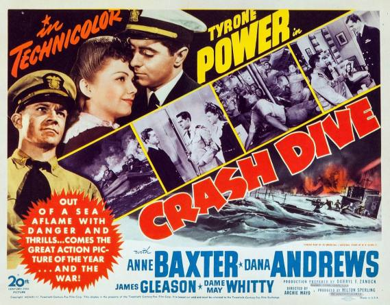 Crash Dive (20th Century Fox, 1943).