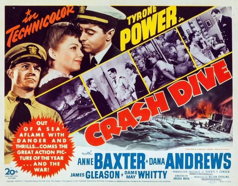 Crash Dive (20th Century Fox, 1943).