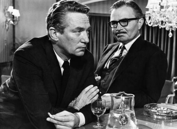 THE PUMPKIN EATER, Peter Finch, James Mason, 1964