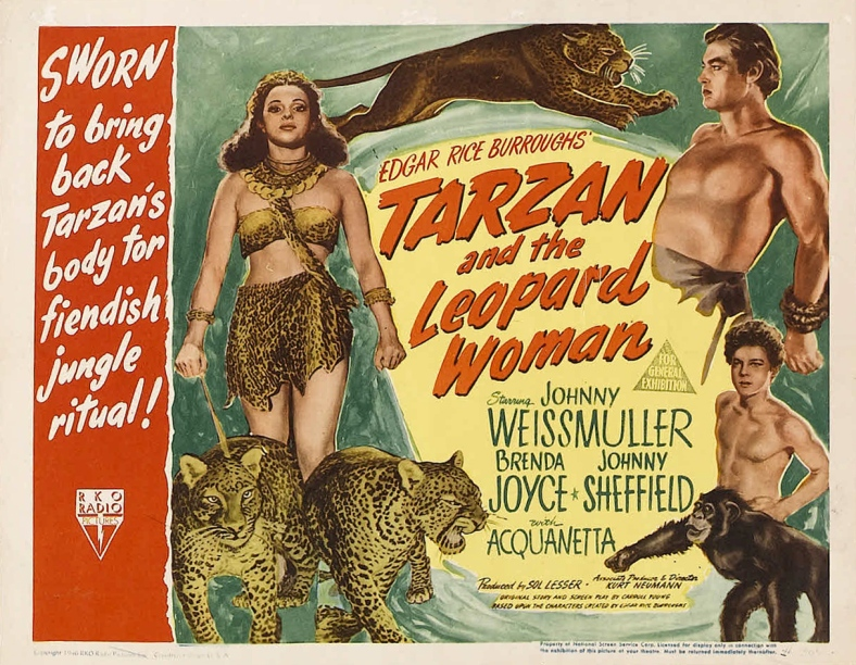 Poster - Tarzan and the Leopard Woman_04