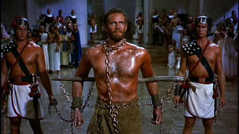 a Cecil B. DeMille The Ten Commandments DVD Review Charlton Heston PDVD_002