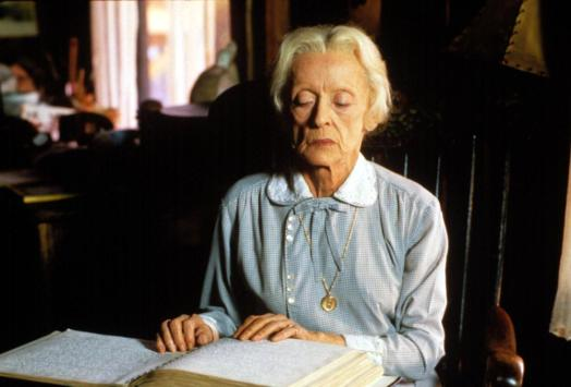 THE WHALES OF AUGUST, Bette Davis, 1987