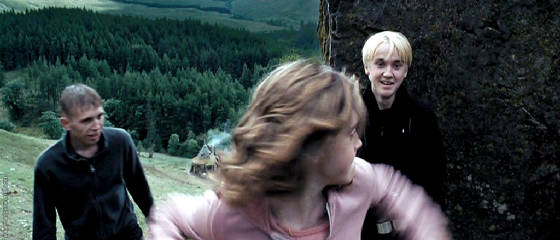 Hermione_punching_Draco