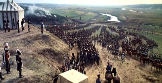 1498242013_French army crossing the Nieman River. Movie War and Peace.