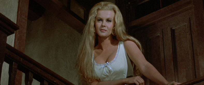 The Train Robbers Ann-Margret lingerie