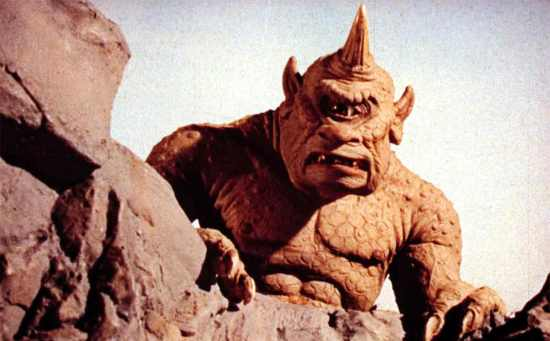 The 7th Voyage of Sinbad (1958) Directed by Nathan Juran Shown: the Cyclops