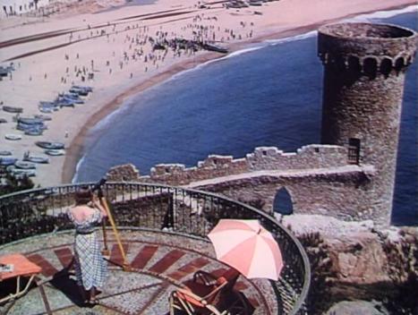 Sheila Sim - Pandora & the Flying Dutchman (1951) beach view