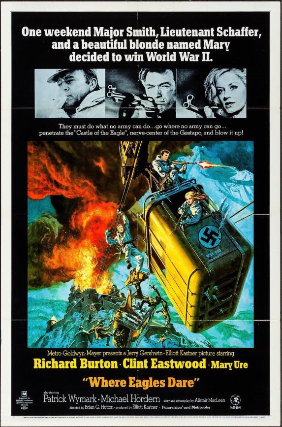 where-eagles-dare-vintage-movie-poster-original-1-sheet-27x41