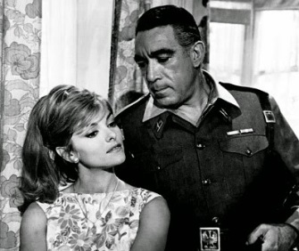 Perrette Pradier and Anthony Quinn in Behold a Pale Horse 2014